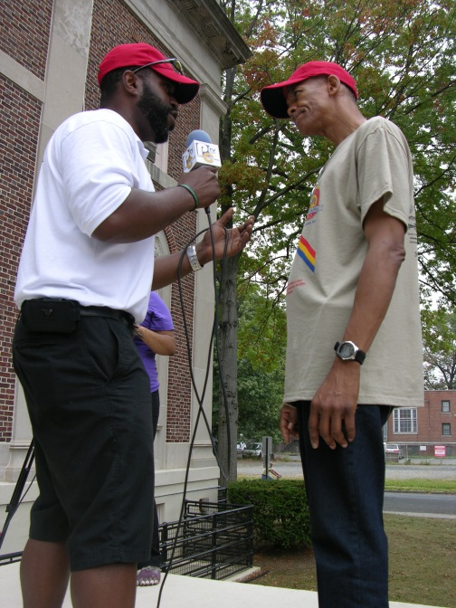 Plainfield 5K Walk/Run Founder Darryl Clark is interview by Lamar Mackson of PCTV.