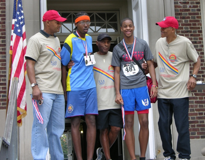 These young men finished first in the under 20 age range