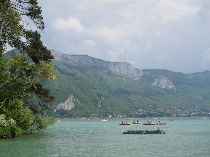 Annecy, France, where I spent the second part of my French experience