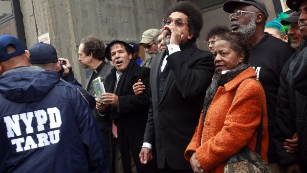 102111-national-cornel-west-arrested-protest