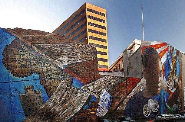 Josh Sarantitis Mural in Philadelphia