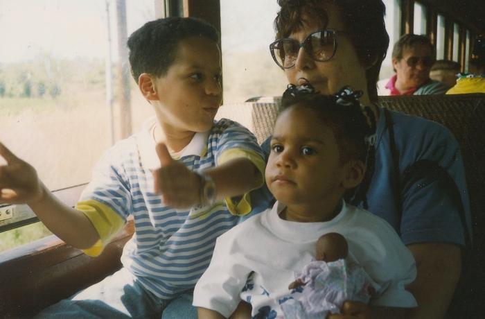 David and Grandma