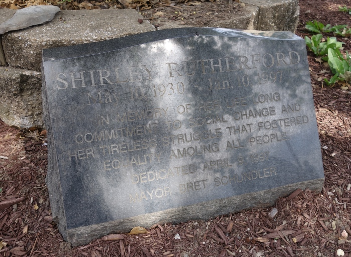 Shirley Rutherford Memorial