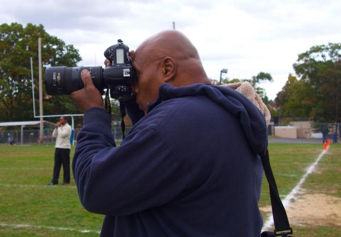 Sports photographer Cornelius Shaw