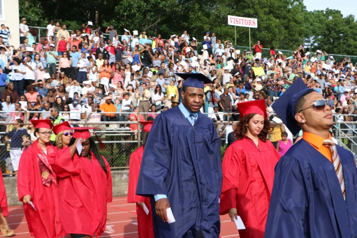 Students enter